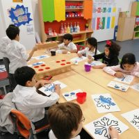 Art Class at Ignite school in dubai