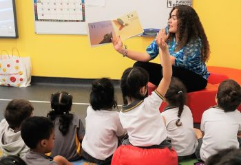 story telling in dubai school