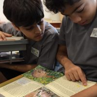 Ignite school students reading