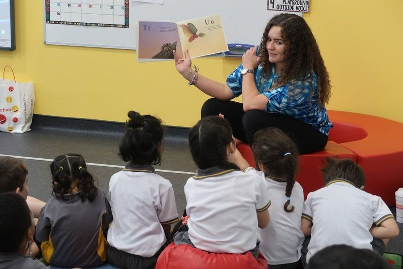 schools with american teachers in dubai